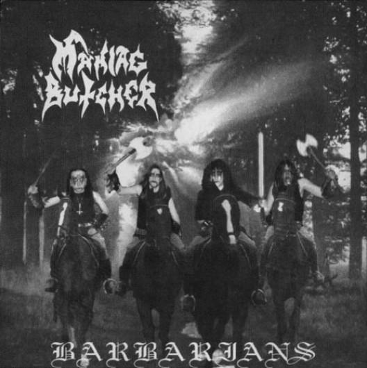 MANIAC BUTCHER - Barbarians LP