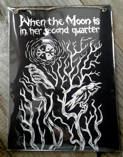WHEN THE MOON IS IN HER SECOND QUARTER ‎– When The Moon Is In Her Second Quarter