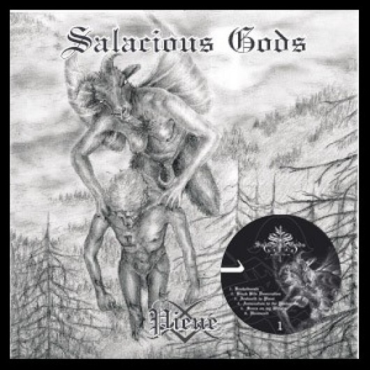 SALACIOUS GODS - Piene LP