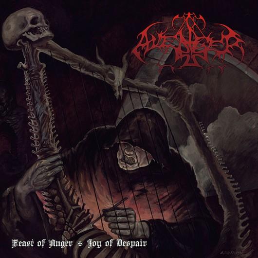 AVENGER – Feast Of Anger / Joy Of Despair LP