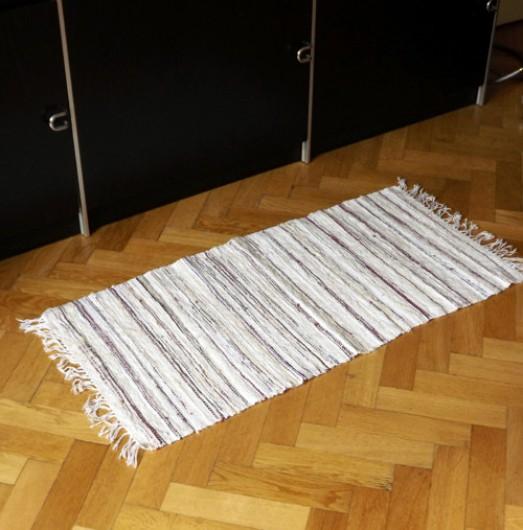 ATELIER MORANA - Ručně tkaný kobereček - předložka